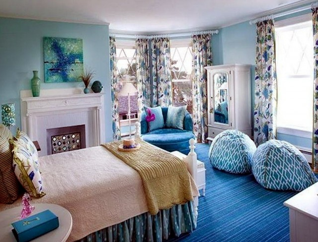 Blue Bedroom Sets For Girls