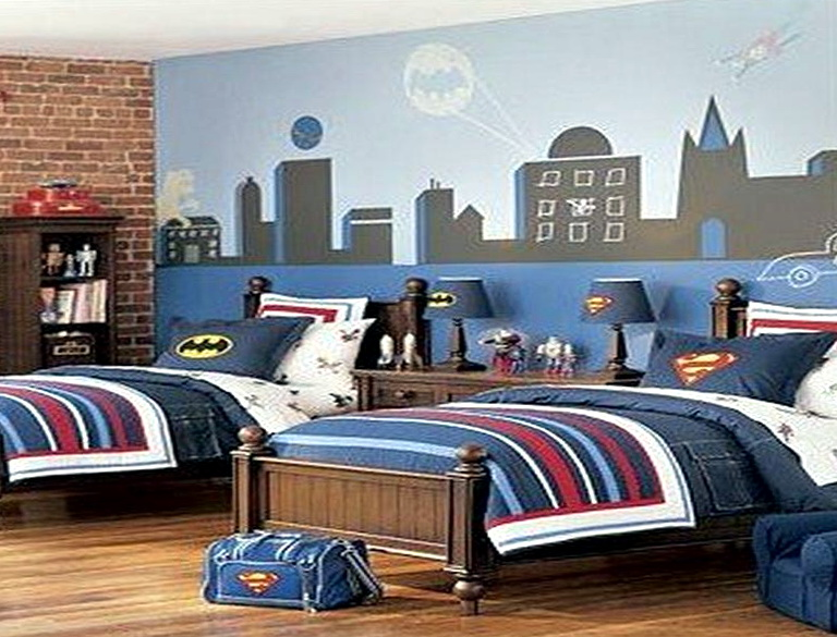 Boys Bedroom Ideas Superhero