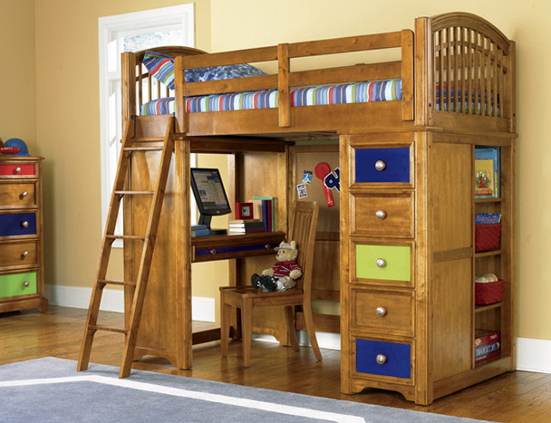 Boys Bunk Beds With Deskboys Bunk Beds With Desk