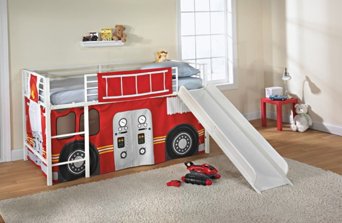Boys Bunk Beds With Slideboys Bunk Beds With Slide