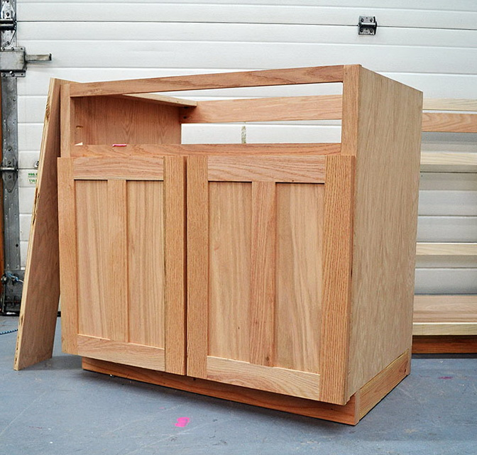 Building Kitchen Cabinets With Plywood