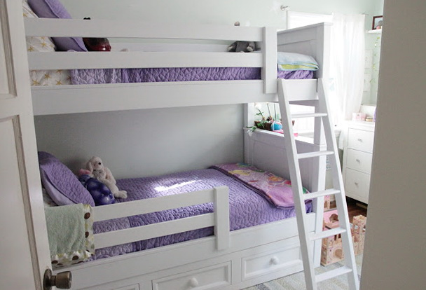 Built In Bunk Beds Cost