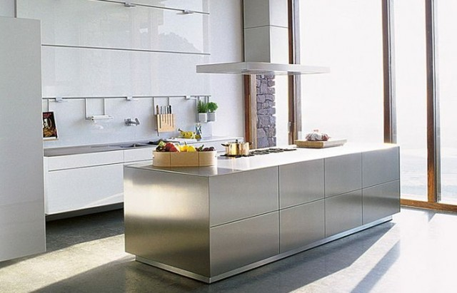 Bulthaup Stainless Steel Kitchen Islandbulthaup Stainless Steel Kitchen Island