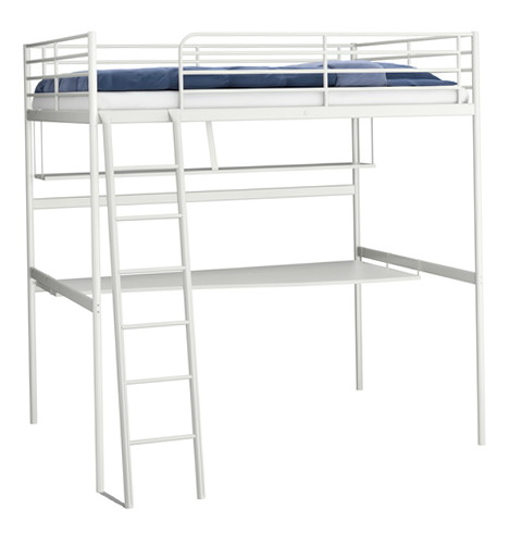 Bunk Bed Desk Combo Ikea