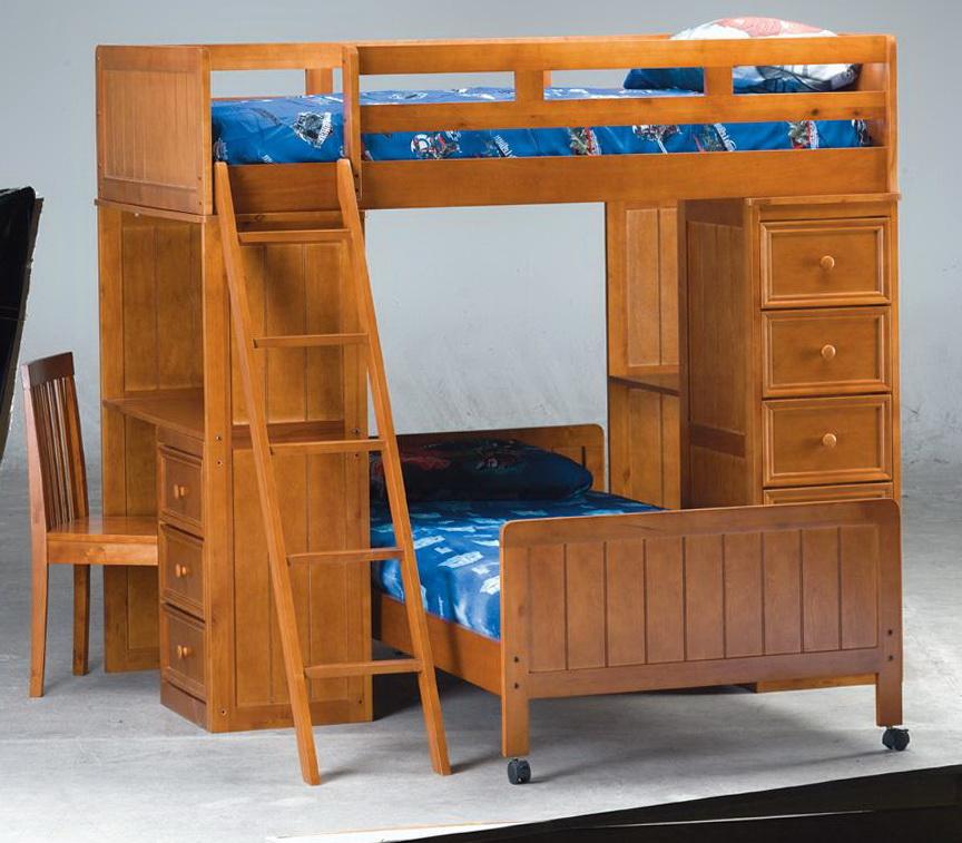 Bunk Bed Desk Drawers