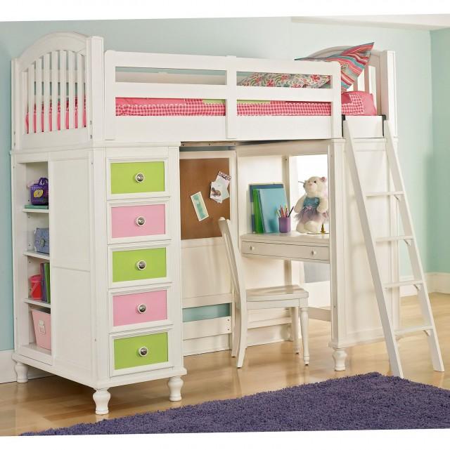 Bunk Bed Desk For Girls