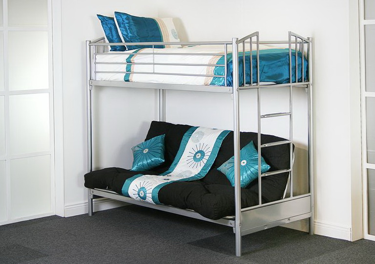 Bunk Bed With Futon On Bottom