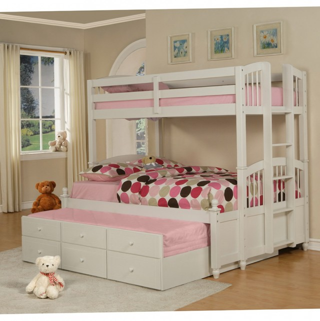 White Bunk Beds With Storage Drawers Home Design Ideas