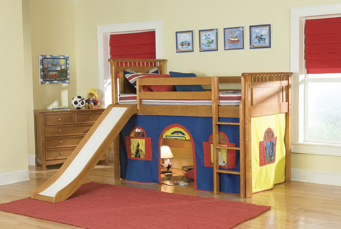 Bunk Beds For Boys With Slide