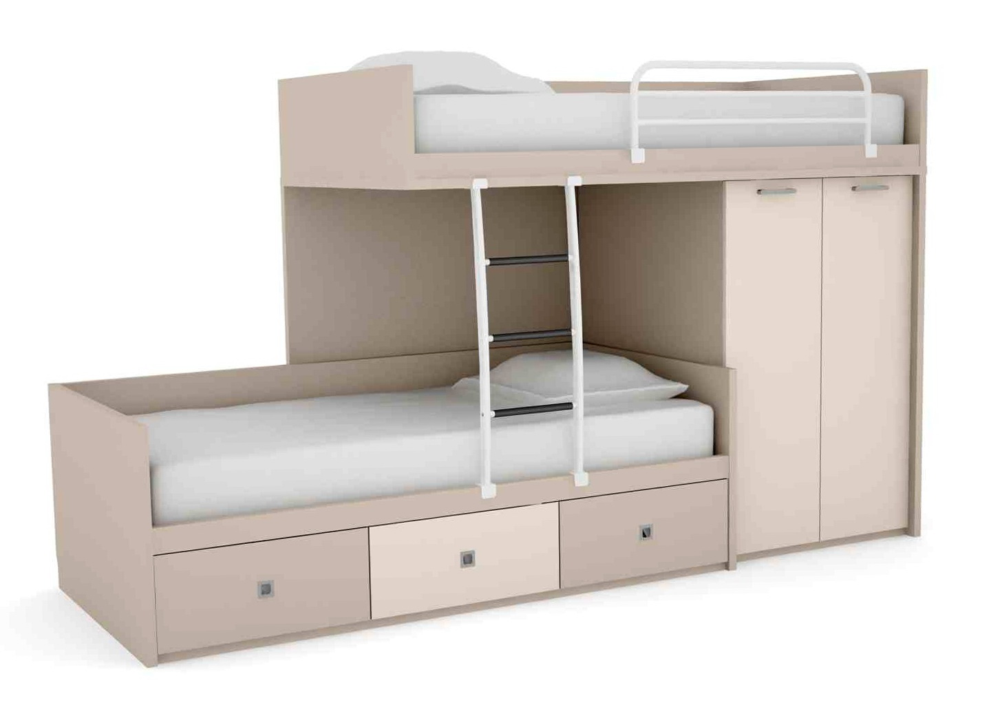 Bunk Beds With Storage Space