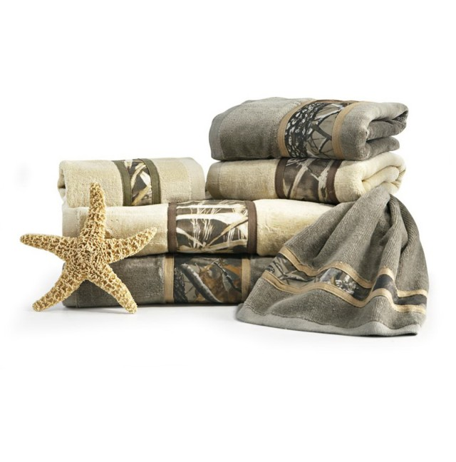 Camo Bathroom Decor Sets