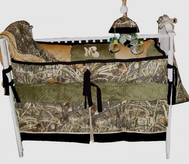 Camo Crib Bedding For Boy