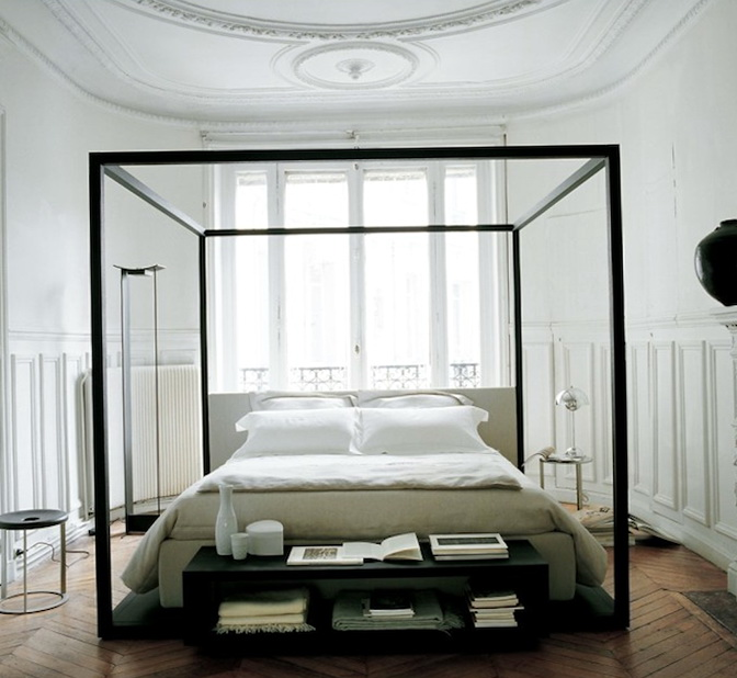 Canopy Bed Frame For Sale