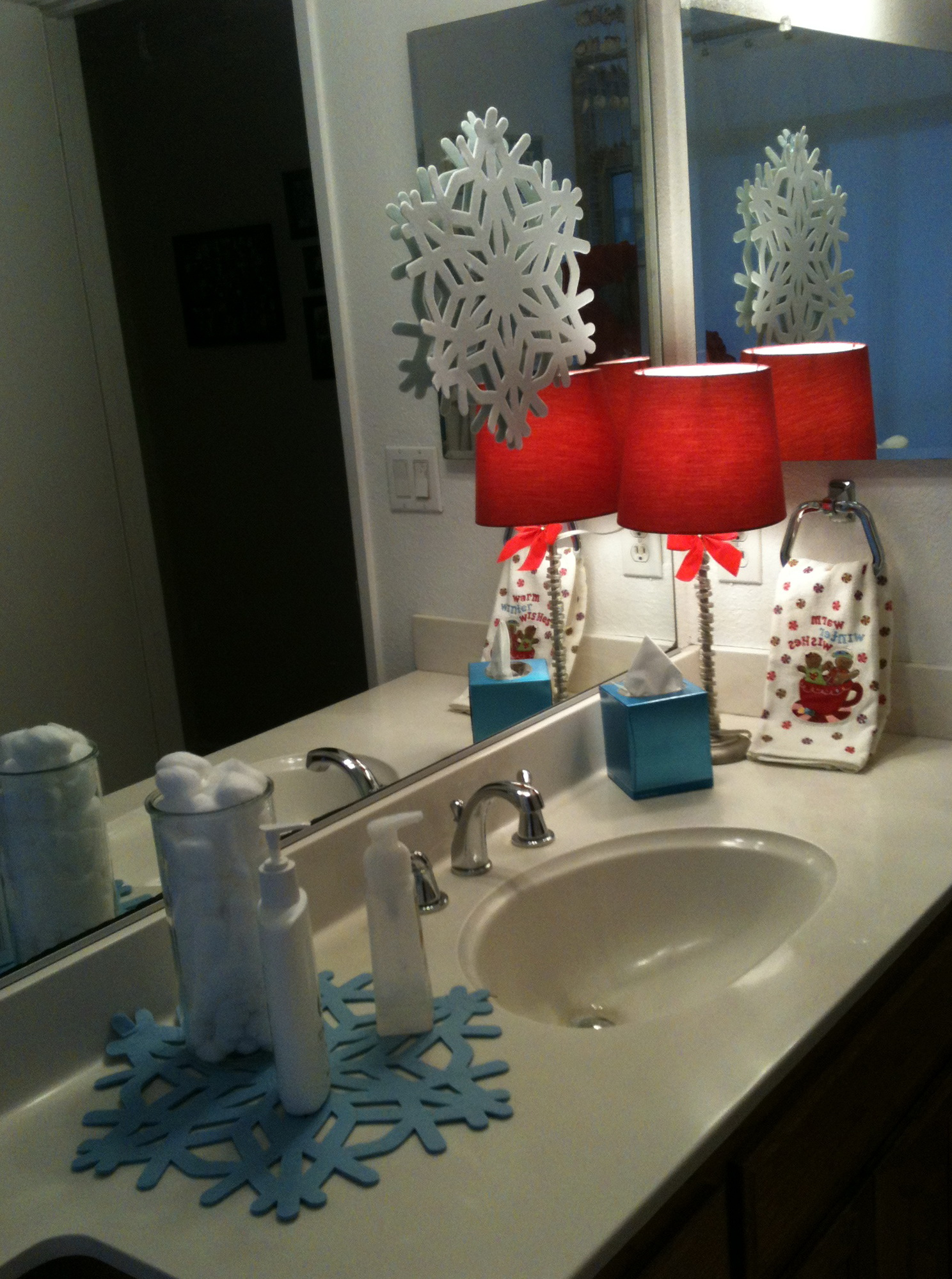 Christmas Bathroom Decor Sets