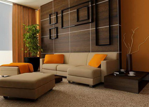 Color Schemes For Living Rooms With Dark Brown Furniture