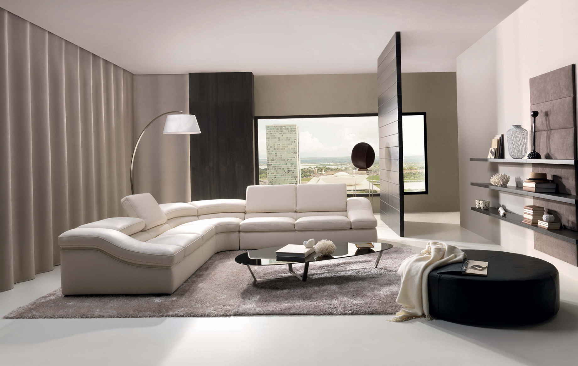 Contemporary Living Room Furniture Designs