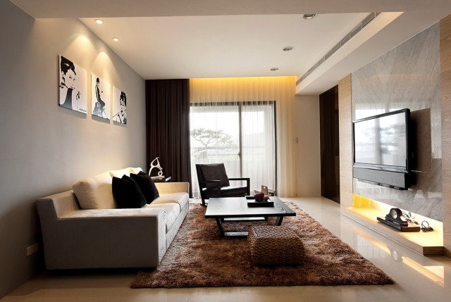 Contemporary Living Room Lamps