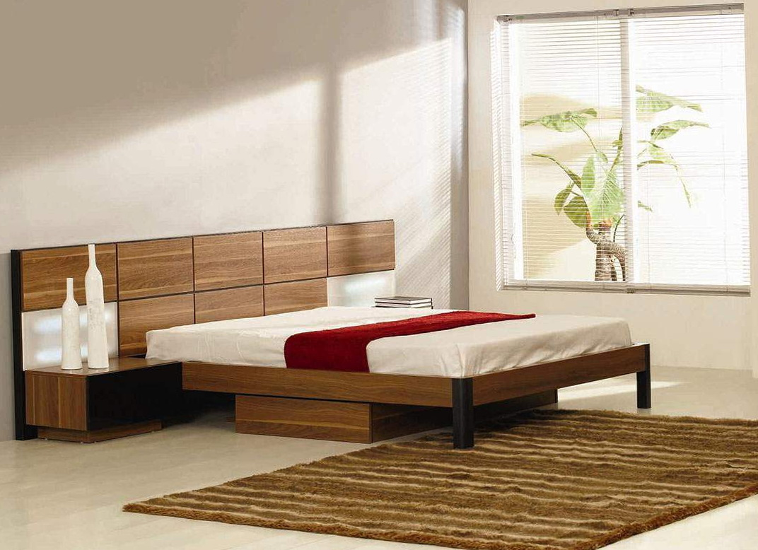 Contemporary Platform Beds With Storage