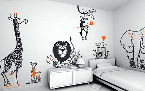 Cool Bedroom Wall Decals