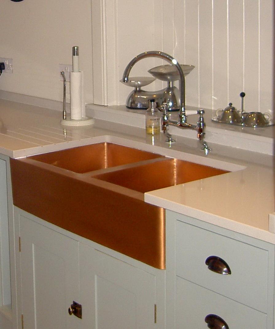 Copper Farm Sinks For Kitchens