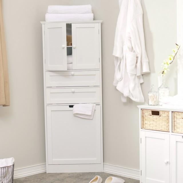 Corner Bathroom Cabinet Ideas