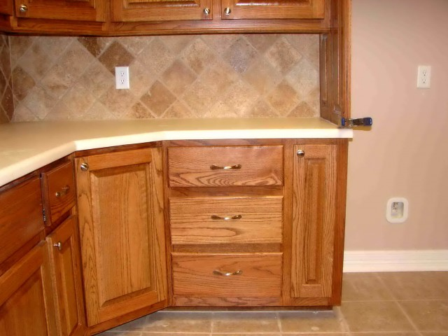 Corner Cabinet Storage Options