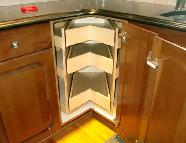 Corner Kitchen Cabinet Organizer