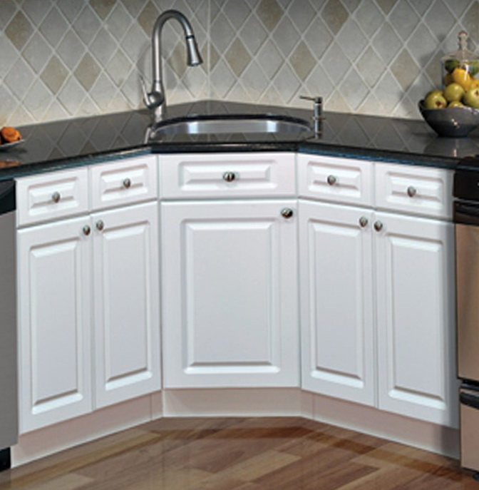 Corner Kitchen Sink Base Cabinet
