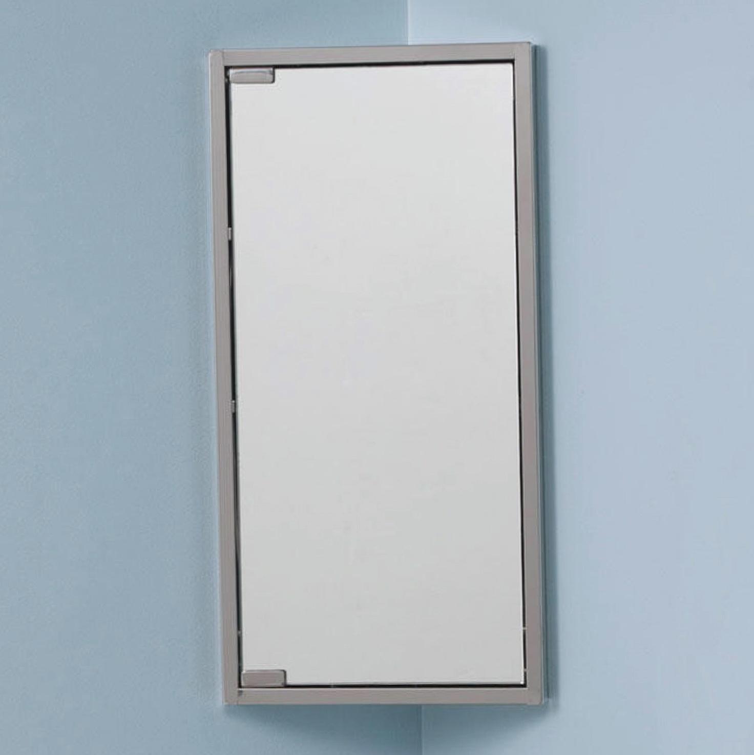 Corner Medicine Cabinet Mirror