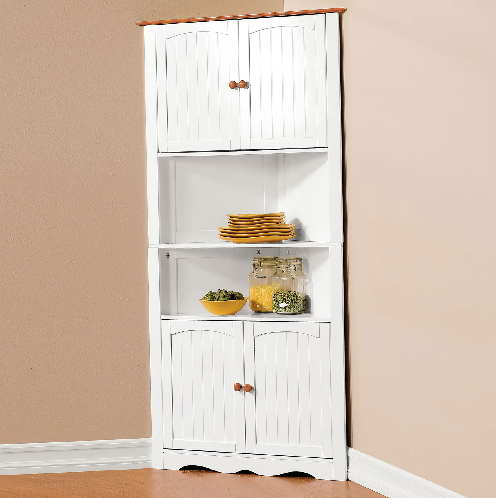 Corner Pantry Cabinet Freestanding Cabinet 36578 Home