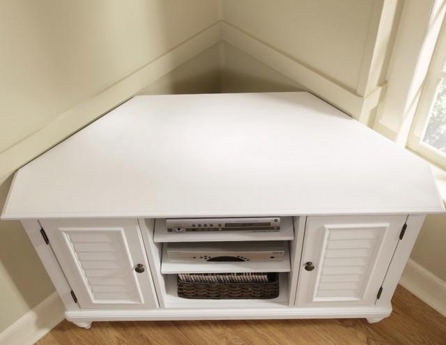 Corner Tv Cabinet White
