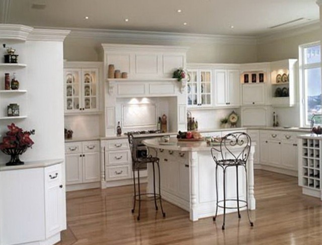 Country Kitchen Ideas White Cabinets
