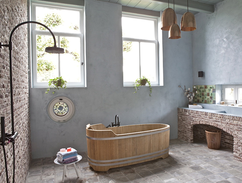 Country Rustic Bathroom Ideas