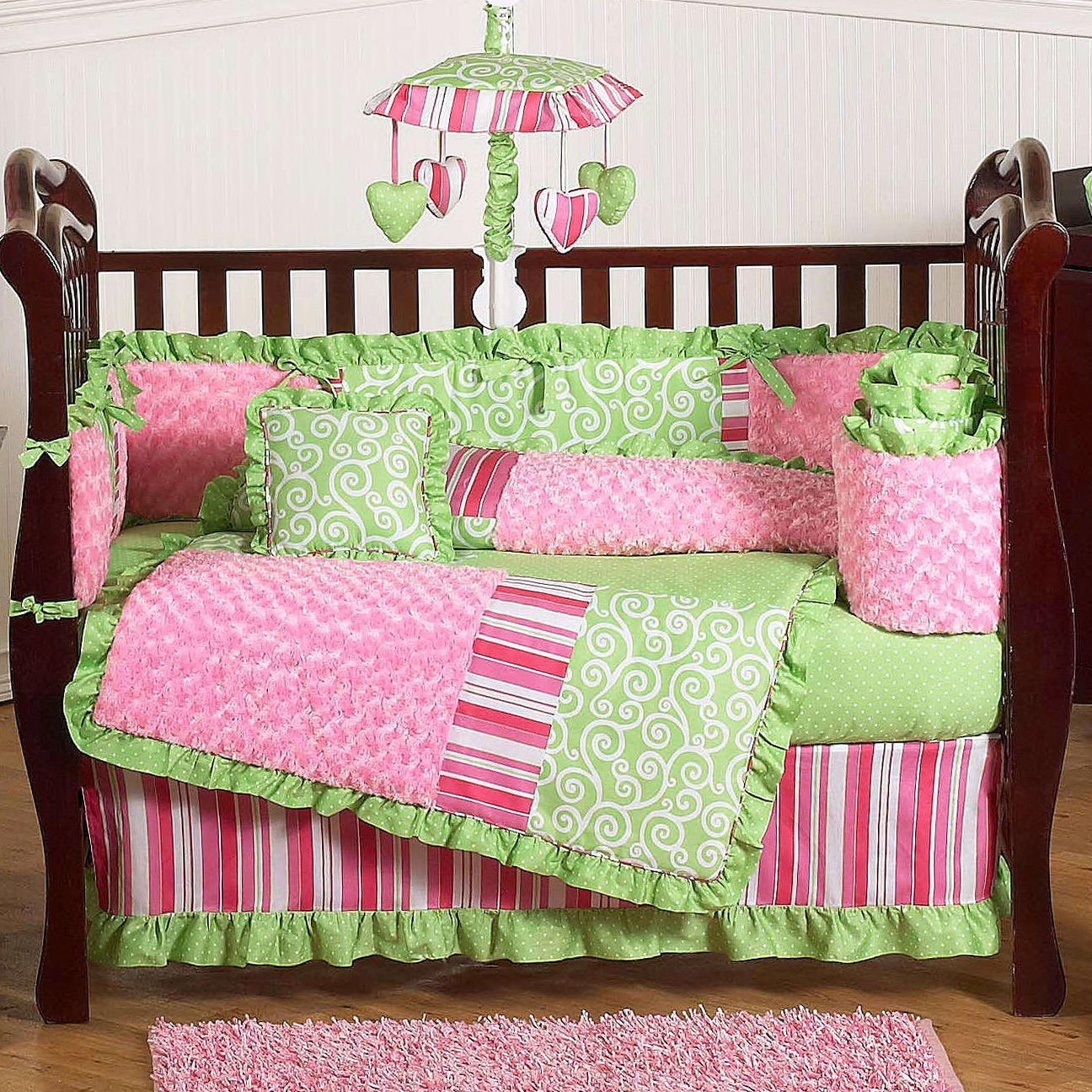 Crib Bed Sets For Girls
