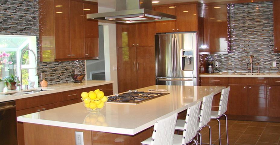 Custom Kitchen Islands Los Angeles