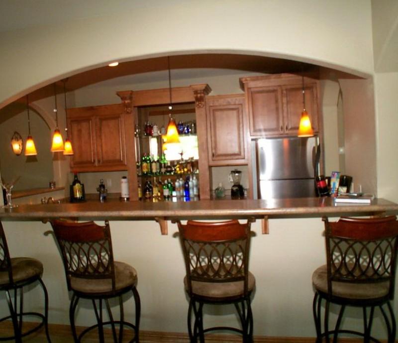 Custom Kitchen Islands With Breakfast Bar