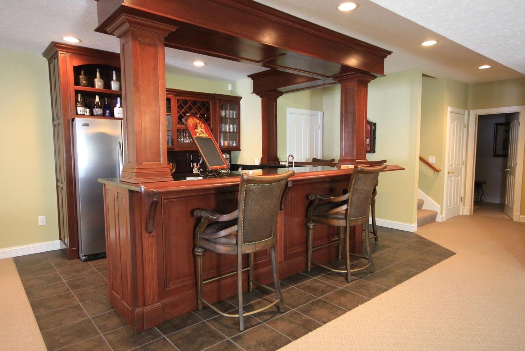 Custom Wet Bar Cabinets