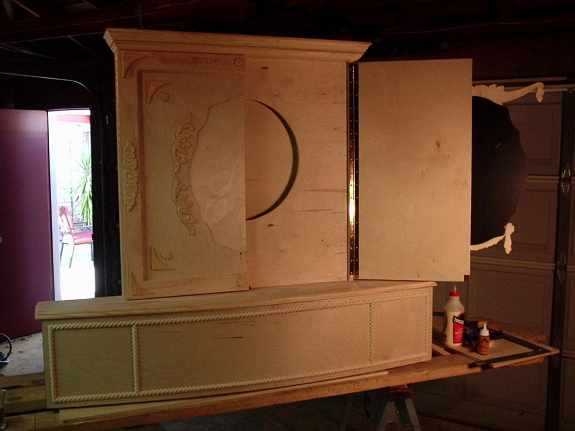 Dartboard Cabinet Designs