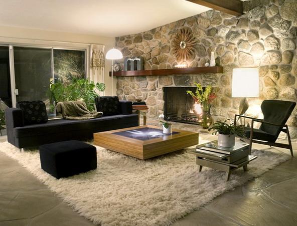 Decorating Ideas For Living Room Shelves