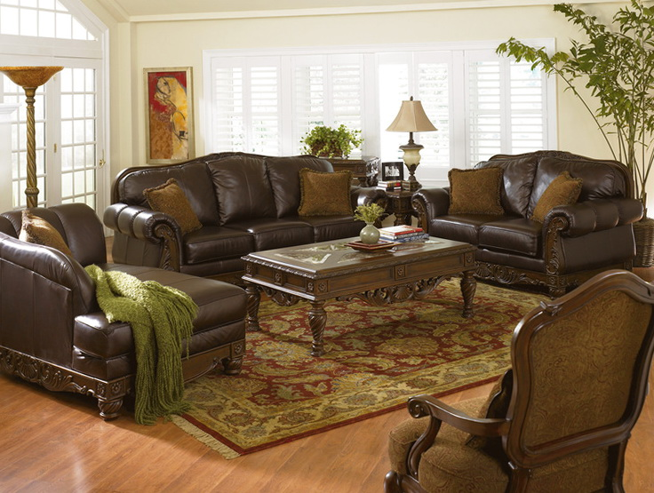 Decorating Ideas For Living Rooms With Brown Furniture