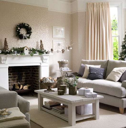 Decorating Living Room For Christmas