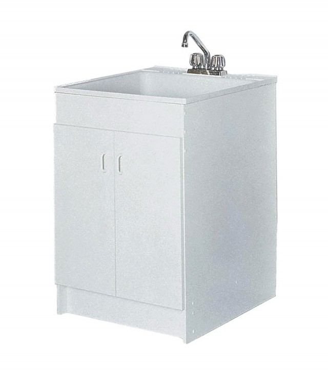 Deep Laundry Sink Cabinet