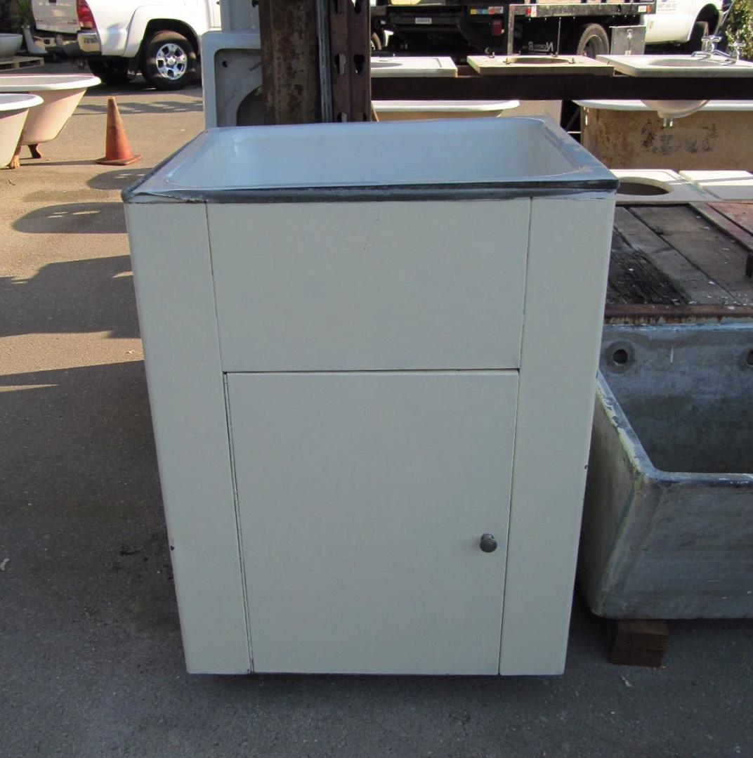 Deep Utility Sink Cabinet