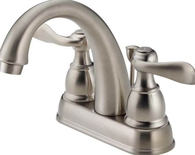 Delta Bathroom Faucets Brushed Nickel