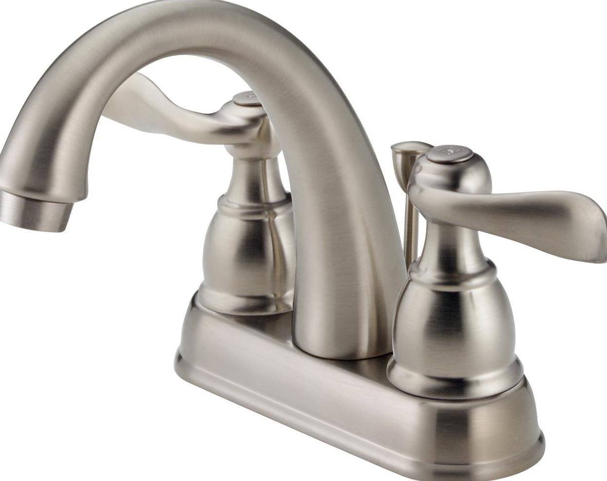 Delta Bathroom Faucets Brushed Nickel