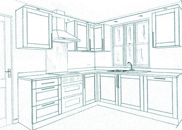 Design A Kitchen Floor Plan