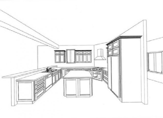 Design your own kitchen cabinet layout home design ideas for Design your own kitchen cabinet layout