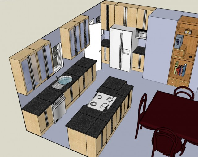 Design Your Own Kitchen Layout Free