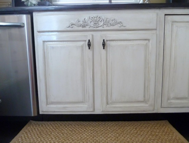 Distressed Kitchen Cabinets Pictures