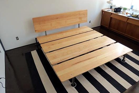 Diy California King Bed Frame1
